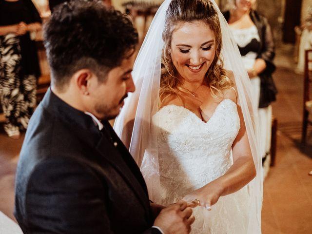 Il matrimonio di Jonathan e Martina a Castelfiorentino, Firenze 28