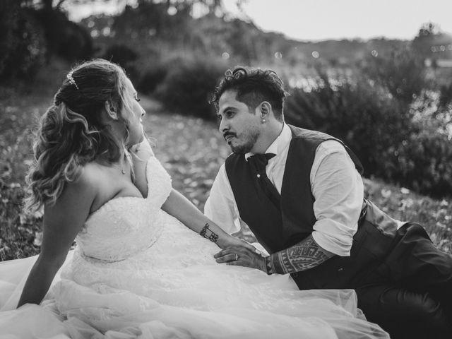 Il matrimonio di Jonathan e Martina a Castelfiorentino, Firenze 1