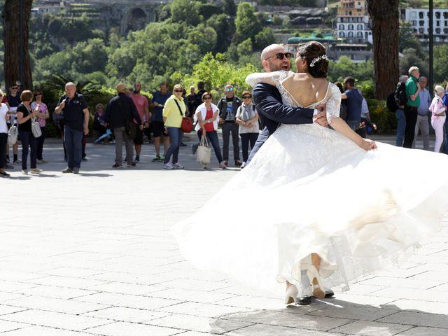 Il matrimonio di Anna e Fabio a Ravello, Salerno 32