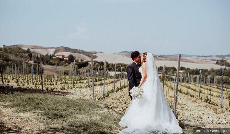 Il matrimonio di Jonathan e Martina a Castelfiorentino, Firenze