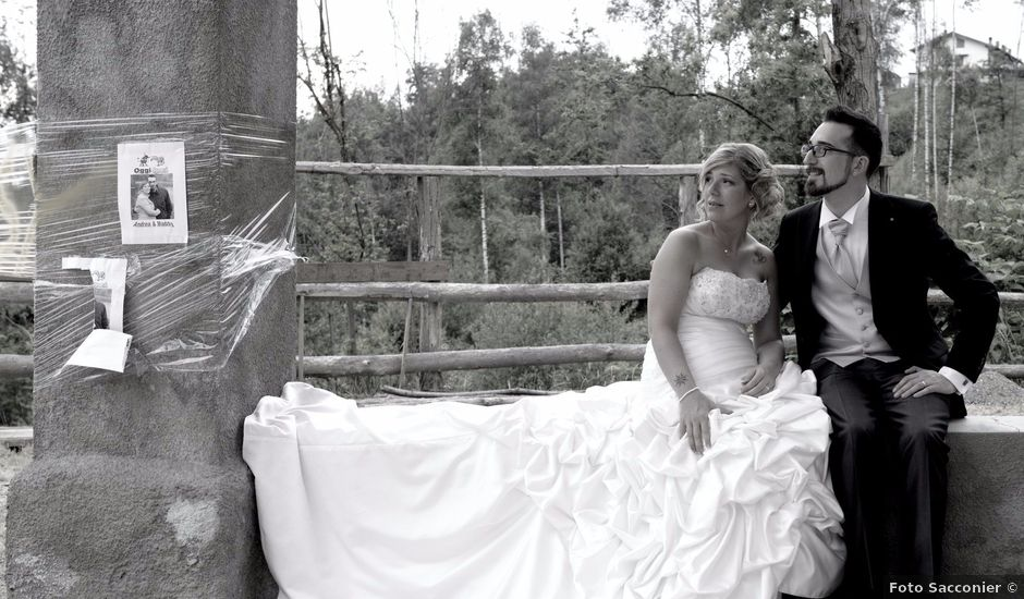 Il matrimonio di Andrea e Maddalena a Issiglio, Torino