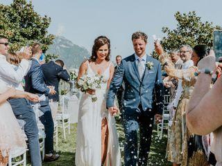Le nozze di Justyna e Olivier