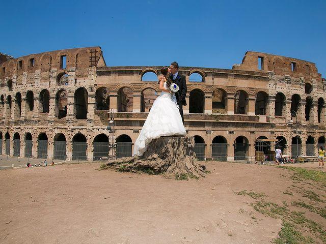 Il matrimonio di Paolo e Valentina a Roma, Roma 2