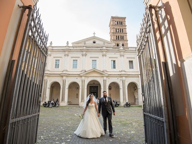 Il matrimonio di Maurizio e Noemi a Roma, Roma 48