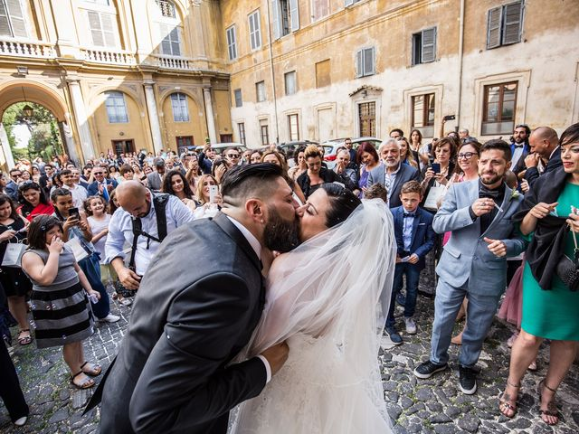 Il matrimonio di Maurizio e Noemi a Roma, Roma 50