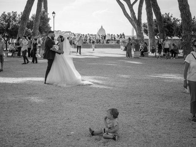 Il matrimonio di Maurizio e Noemi a Roma, Roma 61