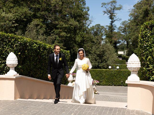 Il matrimonio di Mihai e Ofel a Rocca di Papa, Roma 36