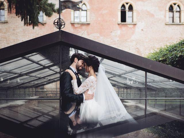 Il matrimonio di Andrea e Silvia a Bevilacqua, Verona 1