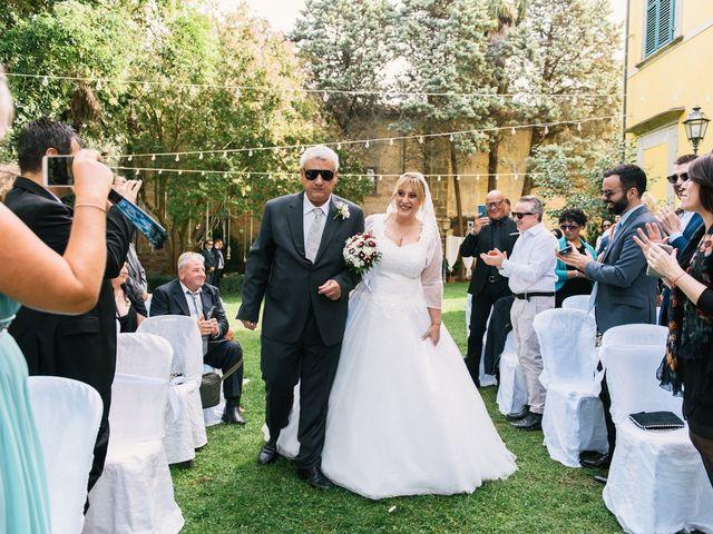 Il matrimonio di Vincenzo e Emilia a San Miniato, Pisa 3