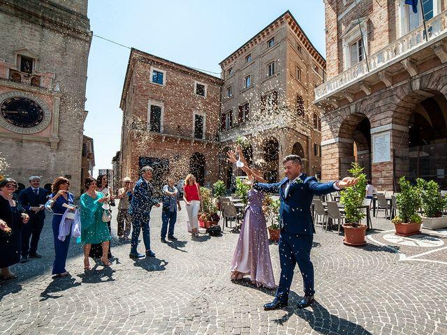 Il matrimonio di Stefano e Florentina a Macerata, Macerata 8