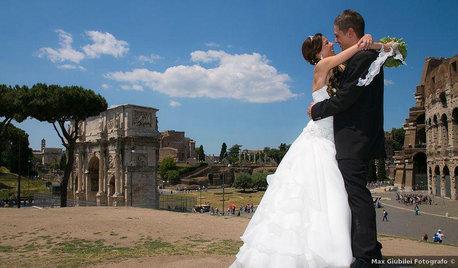 Il matrimonio di Paolo e Valentina a Roma, Roma