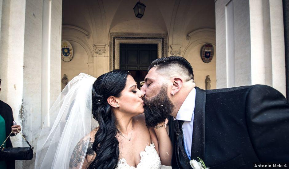 Il matrimonio di Maurizio e Noemi a Roma, Roma