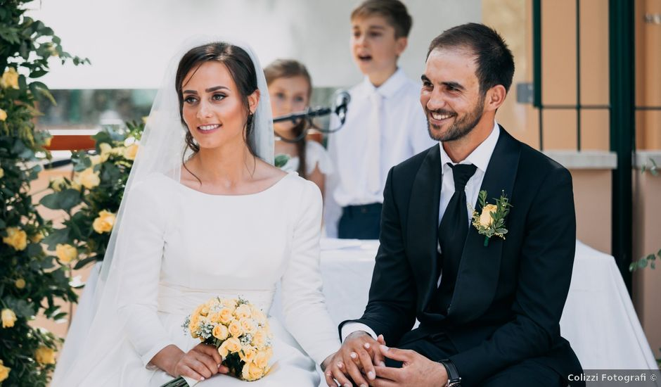 Il matrimonio di Mihai e Ofel a Rocca di Papa, Roma