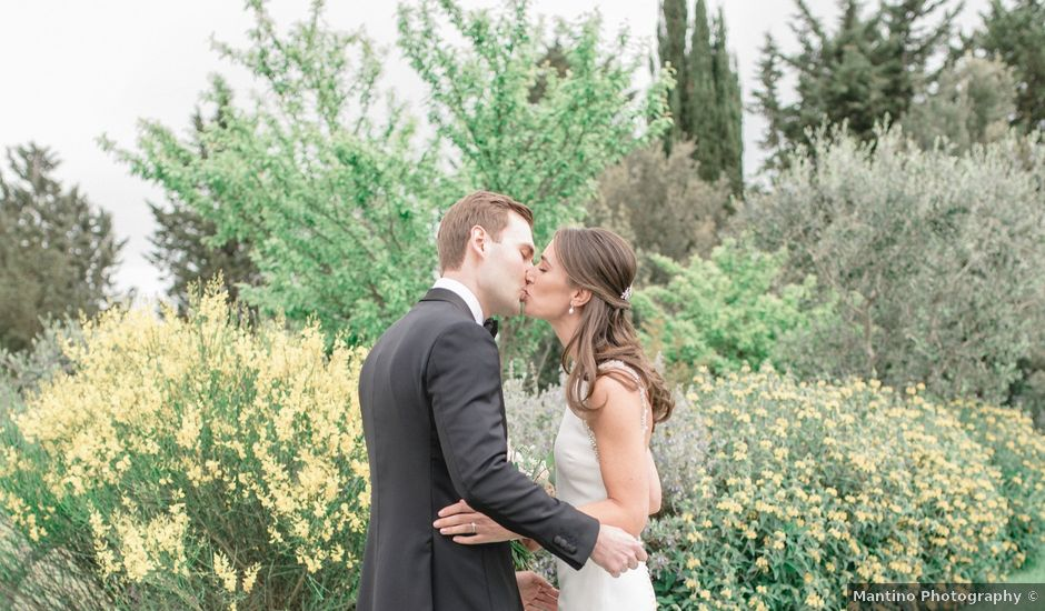 Il matrimonio di Myles e Laura a Castiglione d'Orcia, Siena
