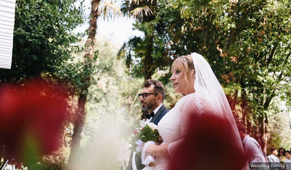 Il matrimonio di Vincenzo e Emilia a San Miniato, Pisa