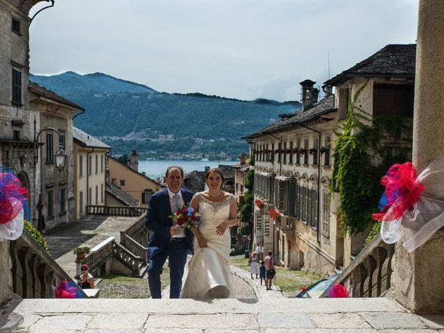 Il matrimonio di Ignazio e Alessandra a Soriso, Novara 4