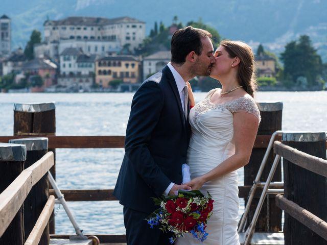 Il matrimonio di Ignazio e Alessandra a Soriso, Novara 11
