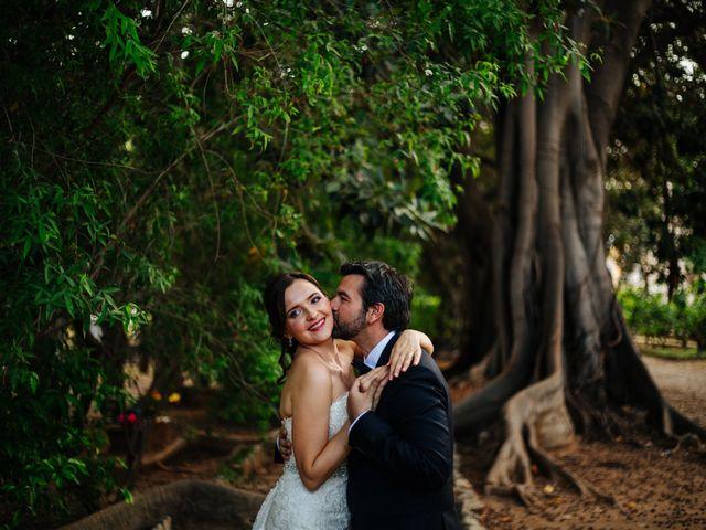 le nozze di Oksana e Antonio