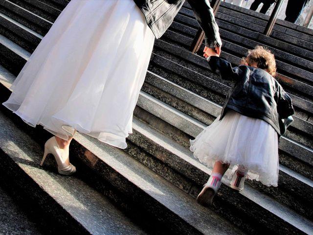 Il matrimonio di Davide e Chantal a Milano, Milano 1