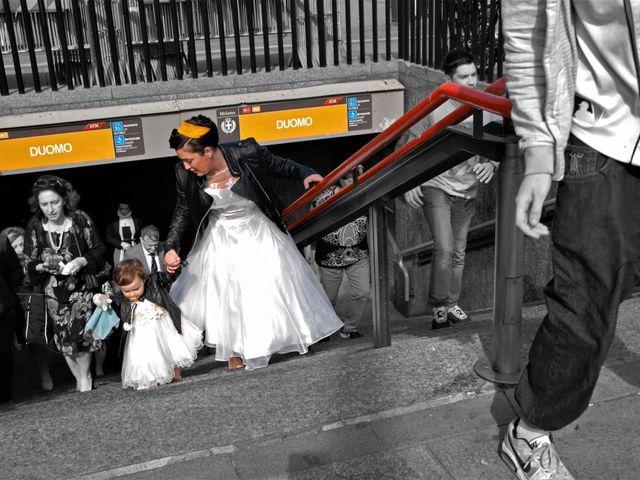 Il matrimonio di Davide e Chantal a Milano, Milano 17