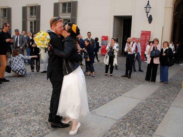 Il matrimonio di Davide e Chantal a Milano, Milano 24