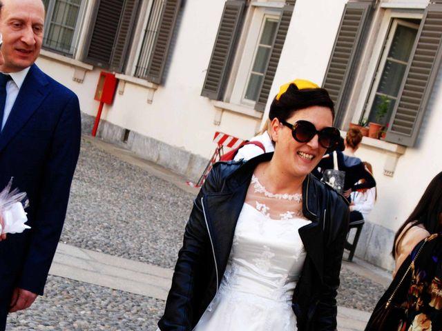 Il matrimonio di Davide e Chantal a Milano, Milano 33