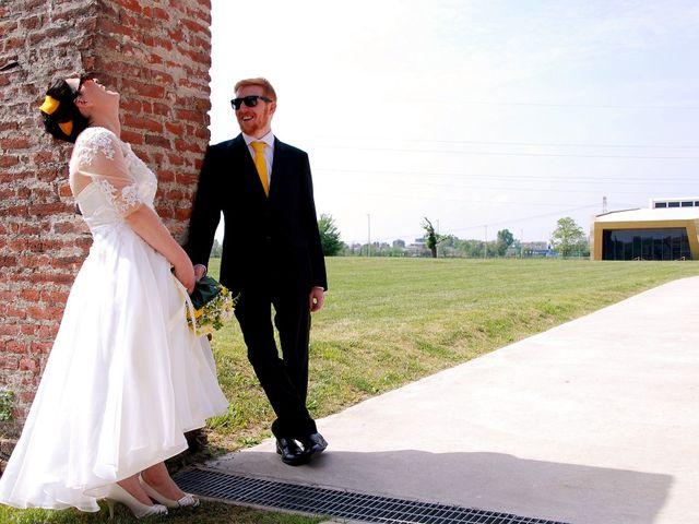 Il matrimonio di Davide e Chantal a Milano, Milano 36