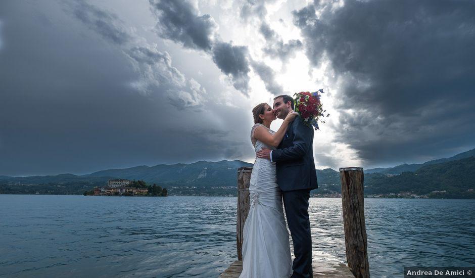 Il matrimonio di Ignazio e Alessandra a Soriso, Novara