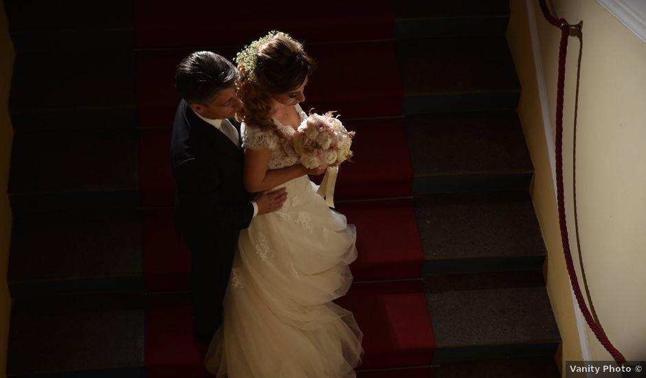 Il matrimonio di Rossella e Leo a Castellammare di Stabia, Napoli