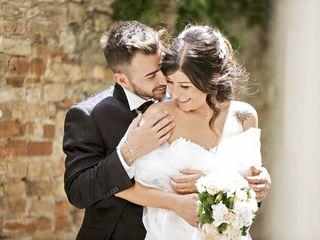 Le nozze di Claudia e Rigers