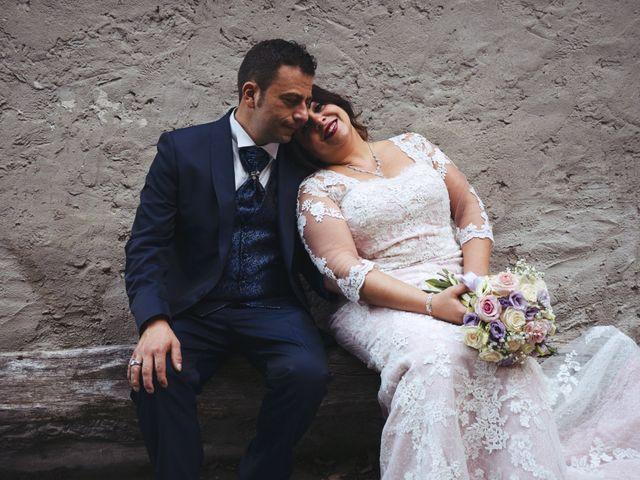le nozze di Tina e Savino