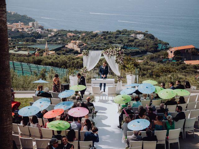 Il matrimonio di Valerio e Stefania a Massa Lubrense, Napoli 15
