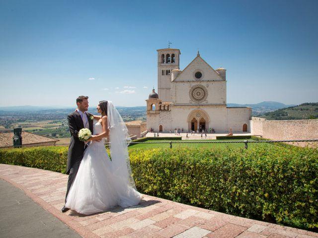Il matrimonio di Daniela e Alessandro a Assisi, Perugia 13