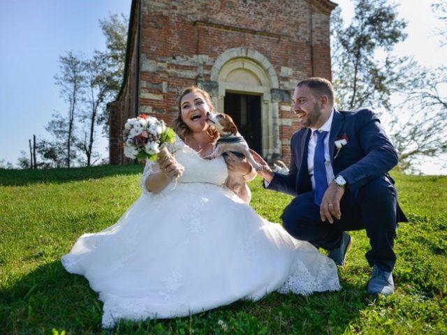 Il matrimonio di Francesco  e Marzia a Tigliole, Asti 7
