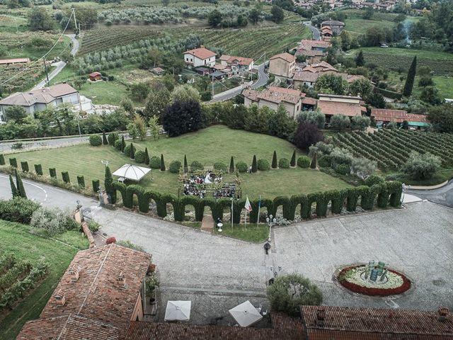 Il matrimonio di Luca e Sara a Monticelli Brusati, Brescia 81