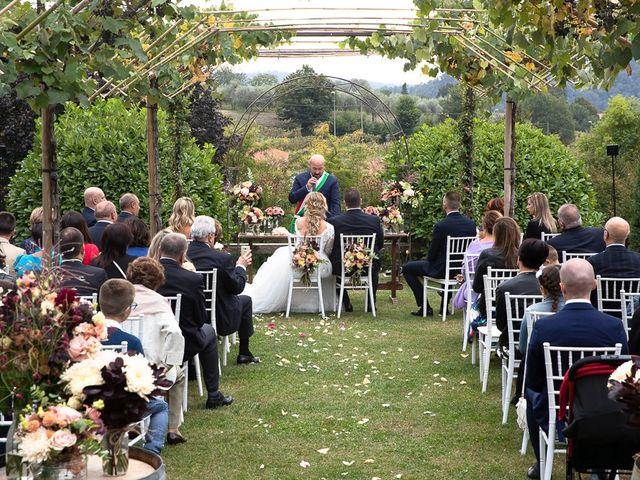 Il matrimonio di Luca e Sara a Monticelli Brusati, Brescia 84