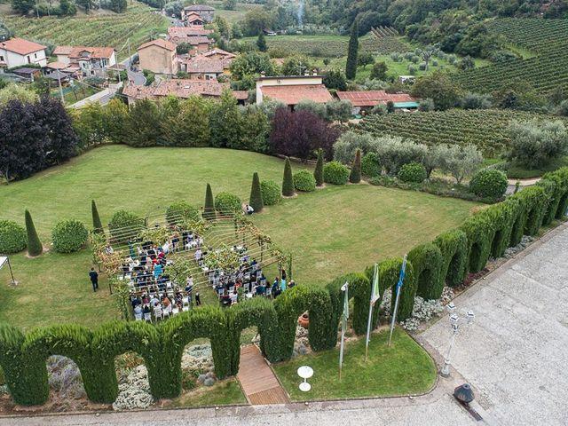 Il matrimonio di Luca e Sara a Monticelli Brusati, Brescia 85