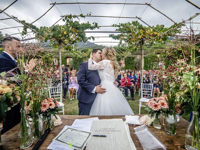 Il matrimonio di Luca e Sara a Monticelli Brusati, Brescia 104