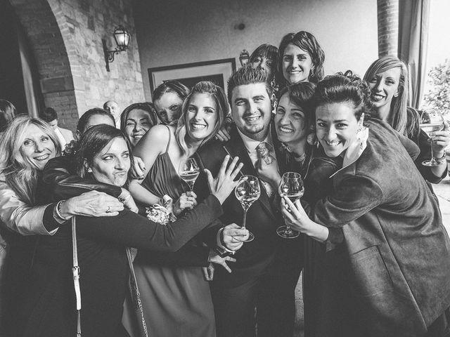 Il matrimonio di Luca e Sara a Monticelli Brusati, Brescia 130