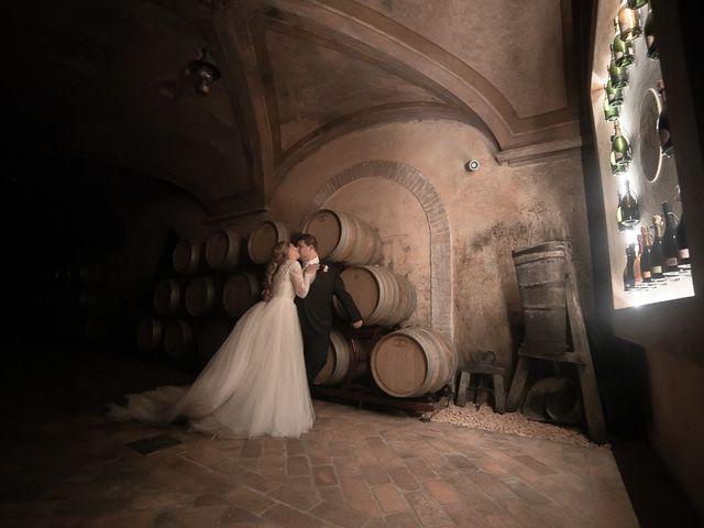 Il matrimonio di Luca e Sara a Monticelli Brusati, Brescia 187