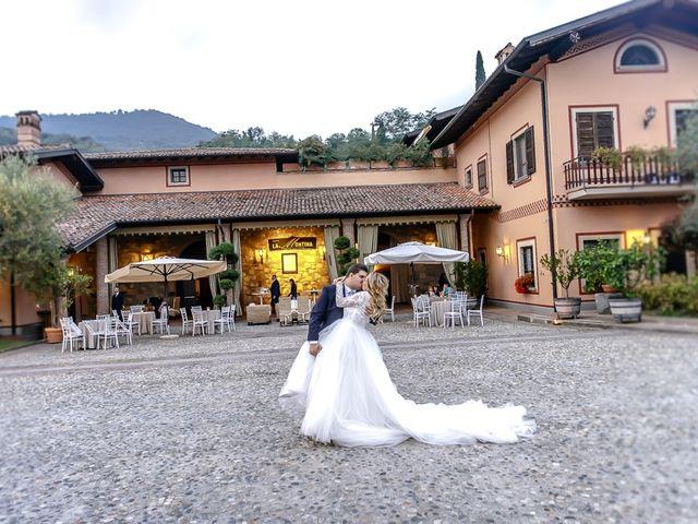 Il matrimonio di Luca e Sara a Monticelli Brusati, Brescia 203