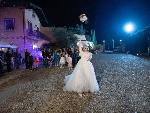 Il matrimonio di Luca e Sara a Monticelli Brusati, Brescia 238