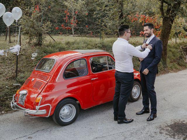 Il matrimonio di Emanuela e Danilo a San Severino Marche, Macerata 27