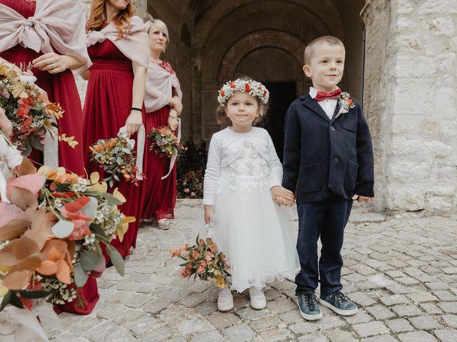 Il matrimonio di Emanuela e Danilo a San Severino Marche, Macerata 34