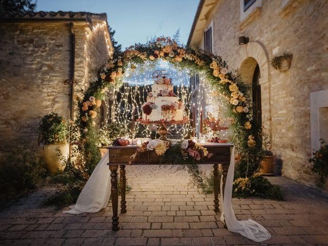 Il matrimonio di Emanuela e Danilo a San Severino Marche, Macerata 94