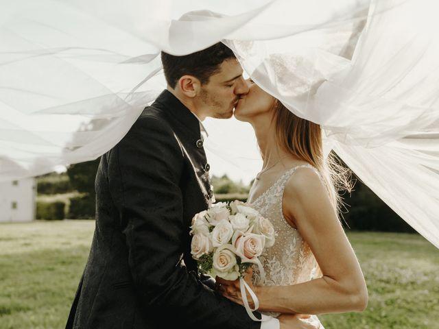 Il matrimonio di Luca e Sabrina a Ronco all'Adige, Verona 33