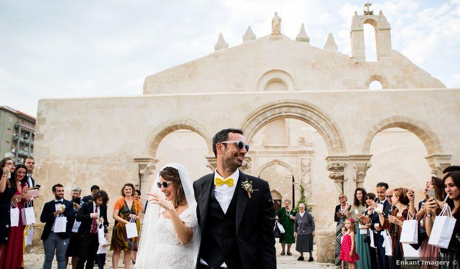 Il matrimonio di Alberto e Chiara a Siracusa, Siracusa