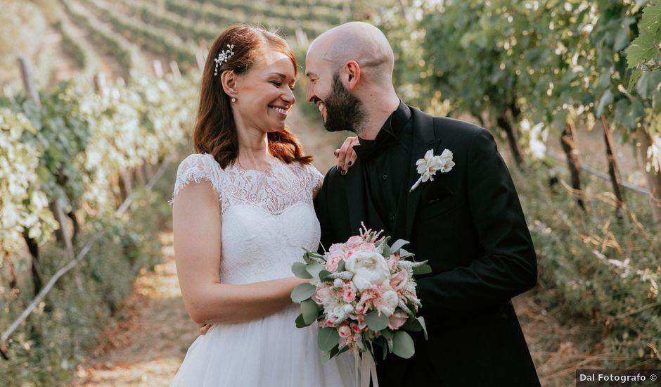 Il matrimonio di Mattia e Michela a Illasi, Verona