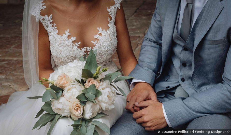 Il matrimonio di Rob e Dana a Scheggino, Perugia
