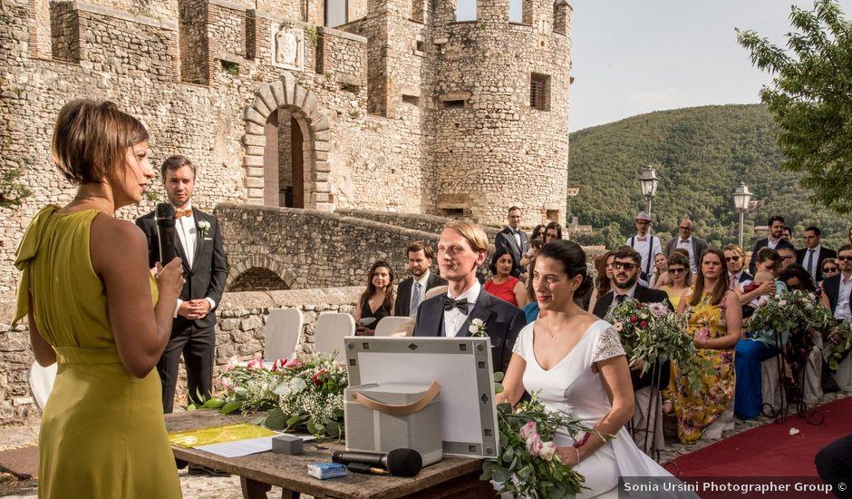 Il matrimonio di Kasper e Ursula a Nerola, Roma